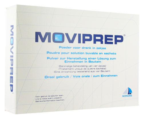 Moviprep Sachets Pack of 4