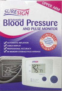 Suresign Blood Pressure And Pulse Monitor