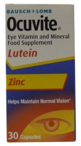 Ocuvite Eye Vitamin & Mineral Supplement Lutein Capsules Pack of 30