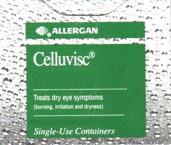 Celluvisc Dry Eye Preparation 0.5% (0.4ml) Pack of 90