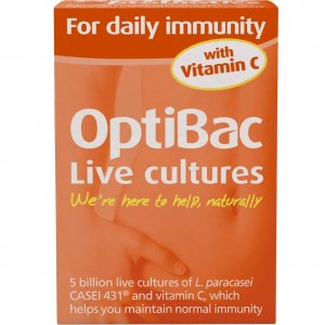 OptiBac Probiotics for Daily Immunity Capsules Pack of 30