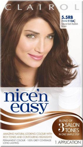 Clairol Nice n Easy Natural Dark Reddish Brown 5.5RB (formerly 112A)