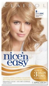 Clairol Nice n Easy Natural Medium Natural Blonde 8 (formerly 103A)