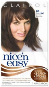 Clairol Nice n Easy Natural Dark Golden Brown 4G (formerly 120A)