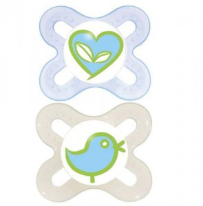 MAM Start Soother 0-2 Months Pack of 2