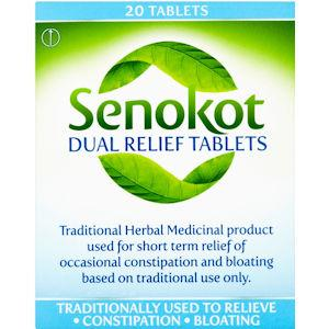Senokot Dual Relief Tablets Pack of 20