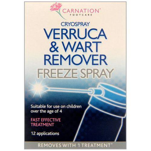 Carnation Verruca & Wart Remover Cryospray 50ml