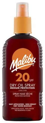 Malibu Dry Oil Spray SPF20 200ml