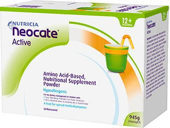 Neocate Active Sachets Unflavoured Pack of 15 x 63g