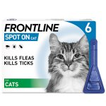 Frontline Spot On Cat Pipettes Pack of 6
