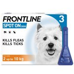 Frontline Spot On Small Dog Pipettes Pack of 3