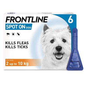 Frontline Spot On Small Dog Pipettes Pack of 6