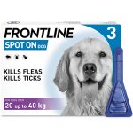 Frontline Spot On Large Dog Pipettes Pack of 3