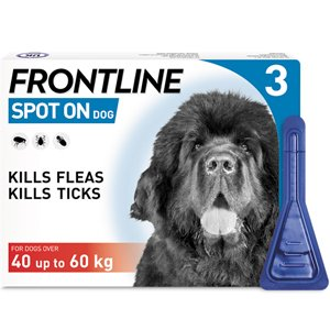 Frontline Spot On X Large Dog Pipettes Pack of 3