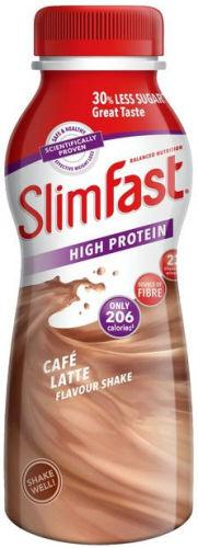 Slim Fast Cafe Latte Ready to Drink 325ml