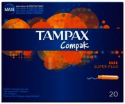 Tampax Compak Super Plus Tampons Pack of 20
