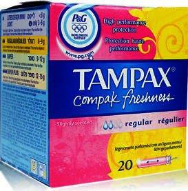 Tampax Compak Fresh Regular Tampons Pack of 20