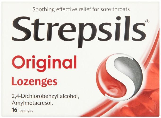 Strepsils Lozenges Original Pack of 16