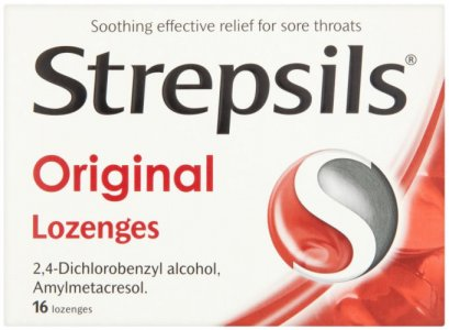 Strepsils Lozenges Original Pack of 16