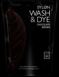 Dylon Wash N Dye Chocolate Brown 400g