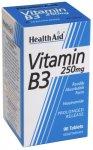 HealthAid Vitamin B3 250mg Tablets Pack of 90