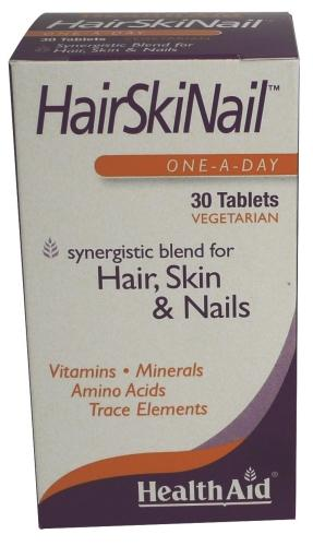 HealthAid HairSkiNail Tablets Pack of 30