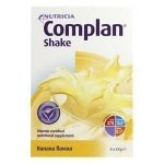 Complan Shakes Banana 57g Pack of 4