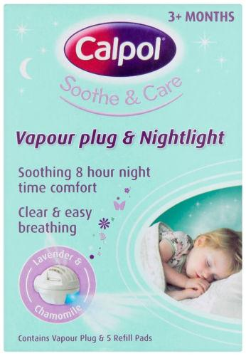 Calpol Soothe & Care Vapour Plug & Nightlight