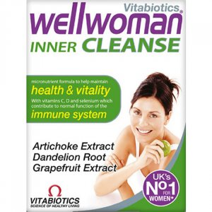 Wellwoman Inner Cleanse Tablets Pack of 30