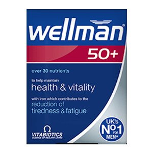 Wellman 50+ Tablets Pack of 30