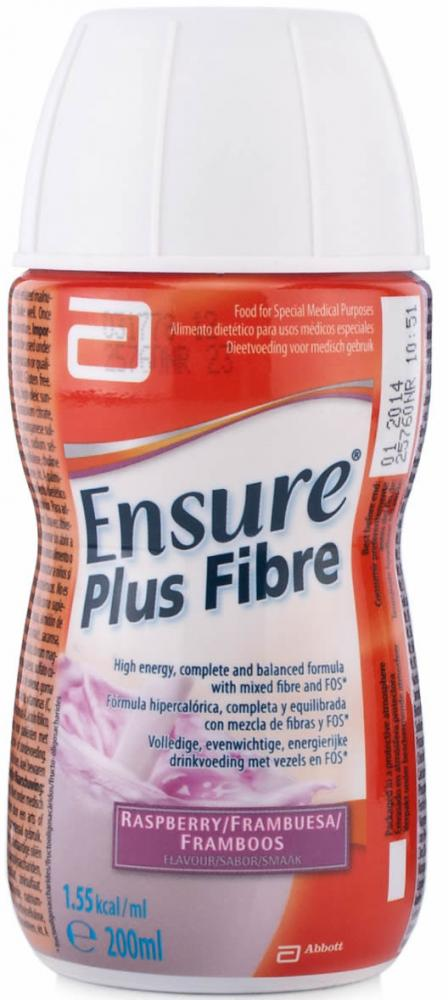Ensure Plus Fibre Raspberry 200ml