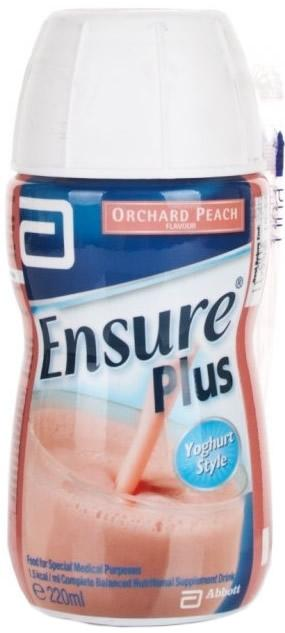Ensure Plus Yoghurt Style Orchard Peach 220ml