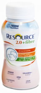 Resource 2.0 Fibre Strawberry 200ml Pack of 4
