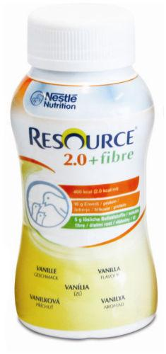 Resource 2.0 Fibre Vanilla 200ml Pack of 4