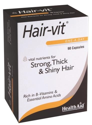 HealthAid Hair-Vit Capsules Pack of 90