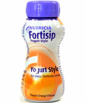 Fortisip Yoghurt Style Peach & Orange 200ml