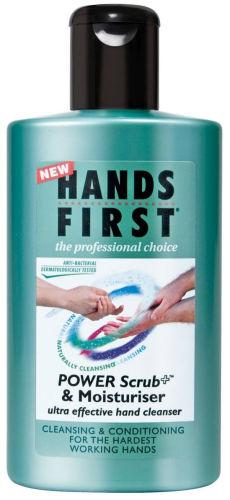 Hands First Power Scrub+ & Moisturiser 225ml