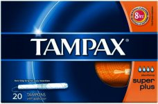 Tampax Super Plus Tampons Pack of 20