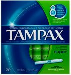 Tampax Super Tampons Pack of 20