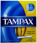 Tampax  Regular Tampons Pack of 20