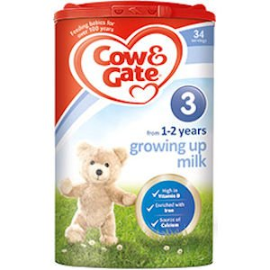 Cow & Gate Growing Up 1-2 Years Milk Powder 900g