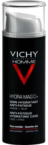 Vichy Homme Hydra Mag C + Anti Fatigue 2 in 1 Moisturiser