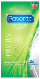 Pasante Infinity Condoms Pack of 12