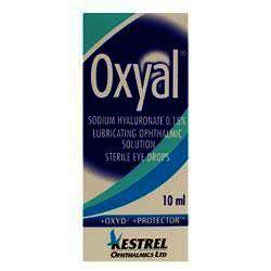 Oxyal Lubricating Ophthalmic Solution 10ml