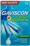Gaviscon Liquid Sachets Original 10ml Pack of 12