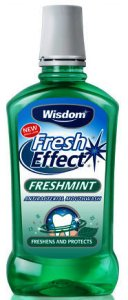 Wisdom Fresh Effect Freshmint Mouthwash 500ml