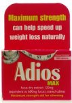 Adios Max Tablets Pack of 100