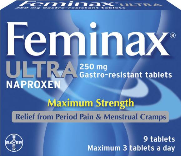 Feminax Ultra Gastro-resistant Tablets Pack of 9