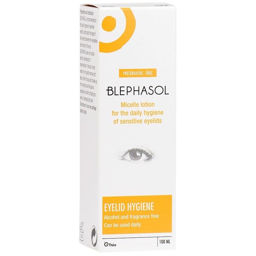 Blephasol Lotion For Sensitive Eyelids 100ml Pack of 3