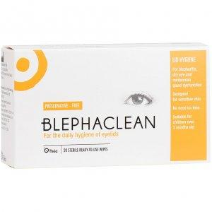 Blephaclean Sterile Eyelid Cleansing Wipes Pack of 20 x 5